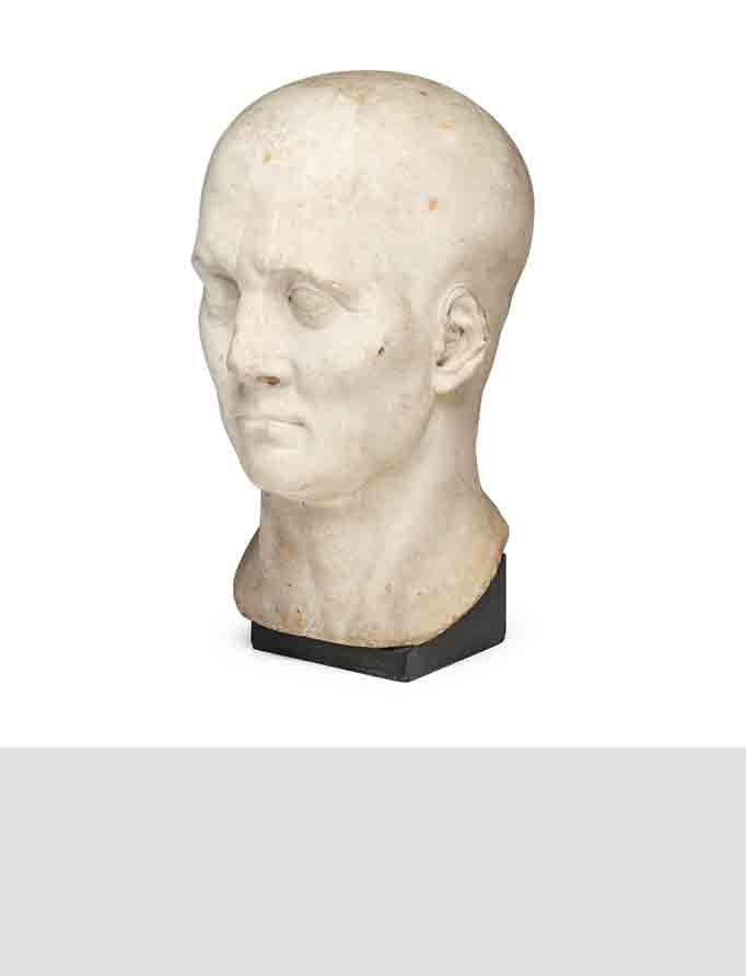 Marble Head of a Roman Nobleman