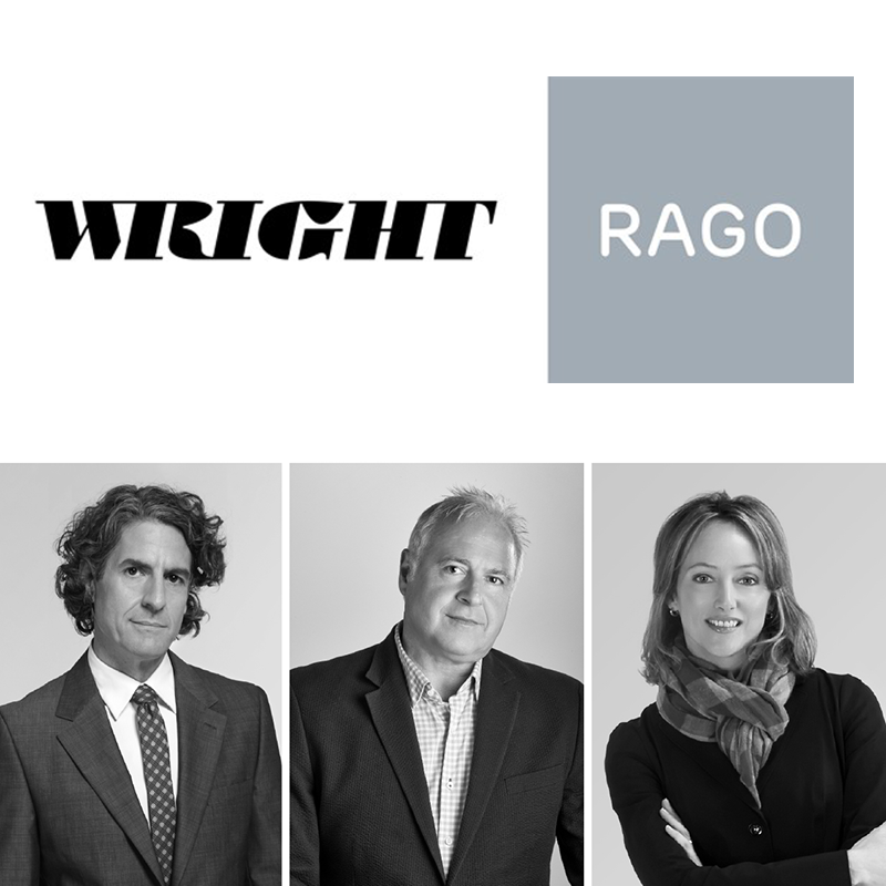 Rago and Wright are Joining Forces